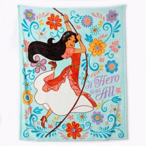 "Disney's Elena of Avalor ""Hero"" Plush Throw by Jumping Beans®"