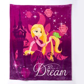 "Disney's Tangled Rapunzel ""Dream"" Plush Throw by Jumping Beans®"