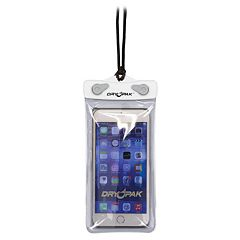 Drypack 7-Inch White Smart Phone Waterproof Case