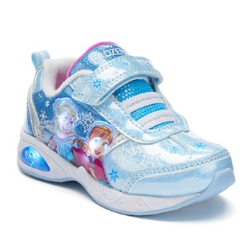 Disney's Frozen Anna & Elsa Toddler Girls' Light-Up Shoes