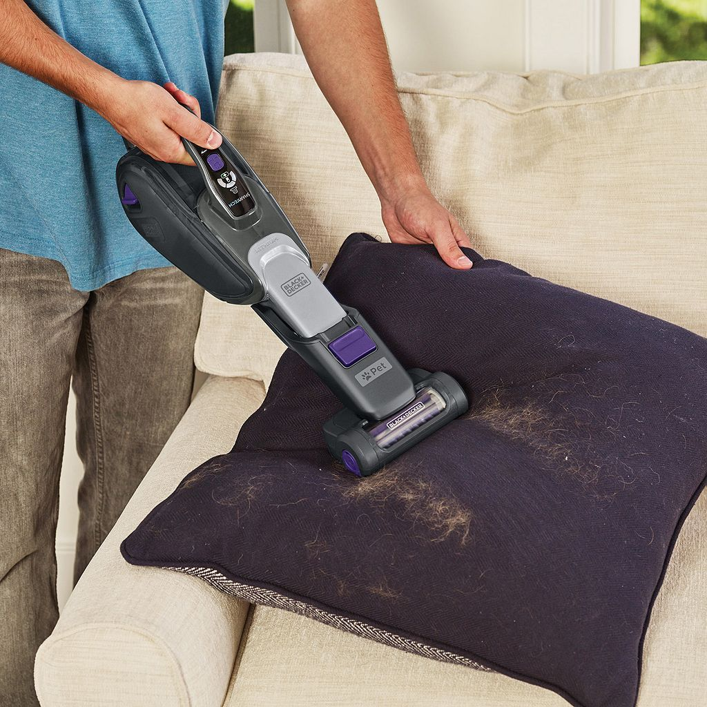 BLACK+DECKER SMARTECH Pet Lithium 2-in-1 Cordless Stick Vacuum with Scented Filter (HSVJ415JMPS71)