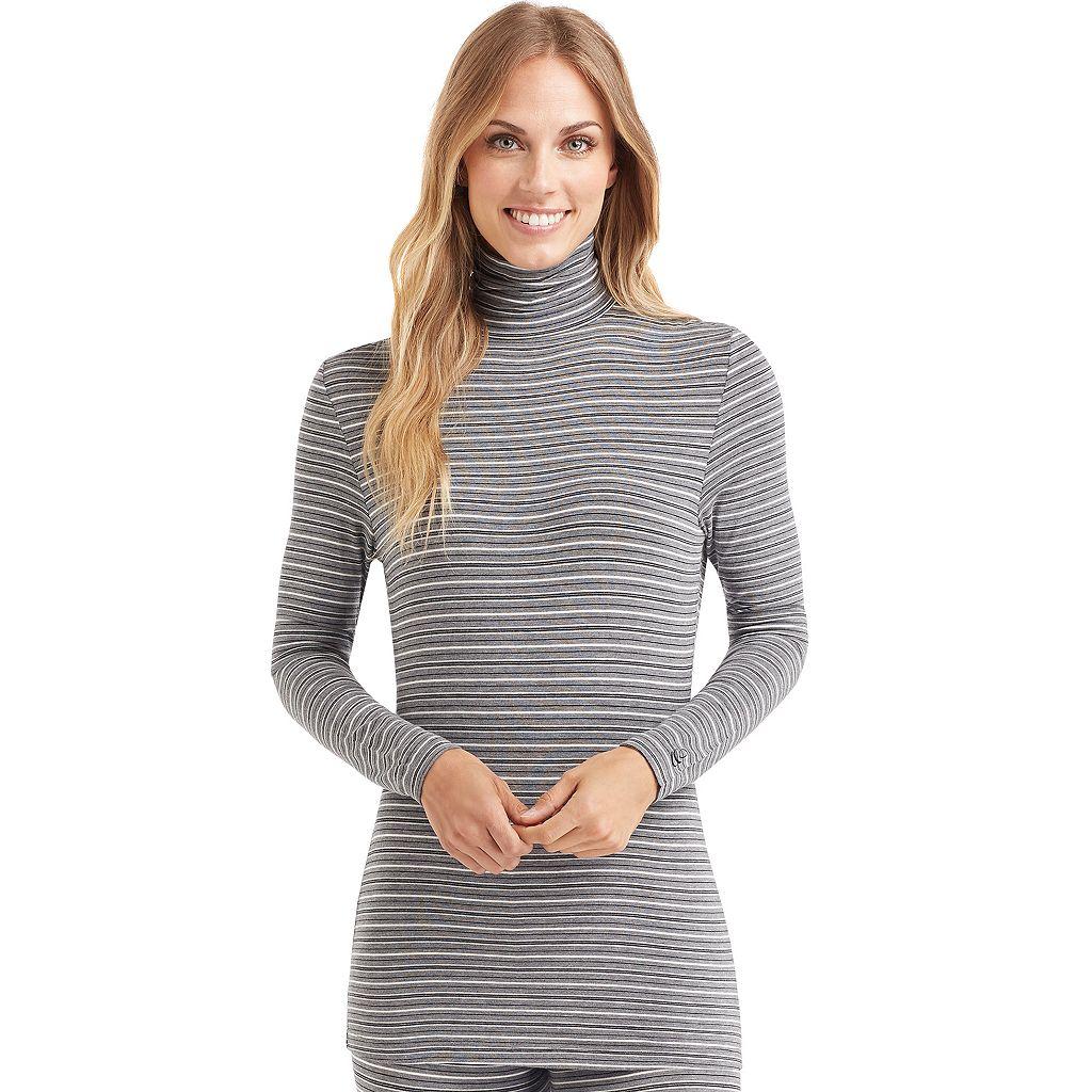 Women's Cuddl Duds Softwear Turtleneck