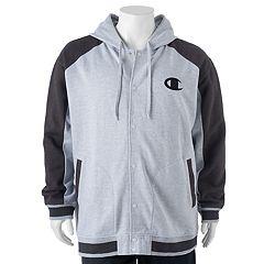 Big & Tall Champion Modern-Fit Colorblock Hooded Fleece Jacket