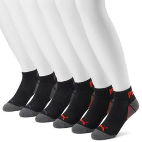 Men's PUMA 6-pack Coolcell Performance Quarter Socks
