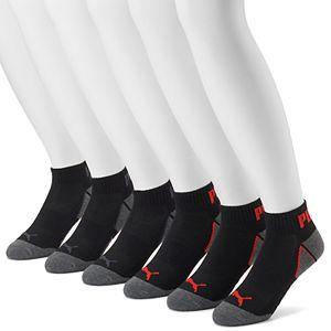 Men's PUMA 6-pack Coolcell Performance Quarter Socks