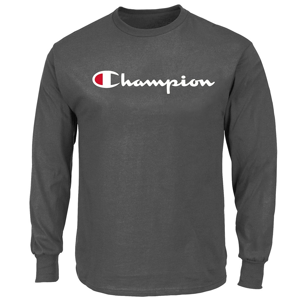 Big & Tall Champion Modern-Fit Logo Sweatshirt