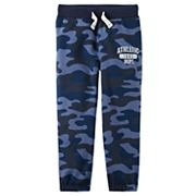 Baby Boy Carter's Camoflauged Fleece Pants