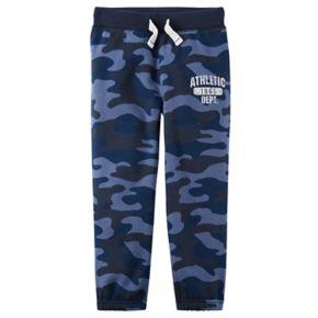 Baby Boy Carter's Camoflauged Fleece Pants