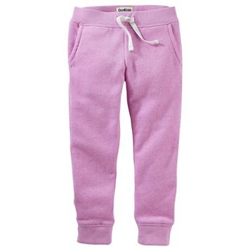Toddler Girl OshKosh B'gosh® Fleece Jogger Pants
