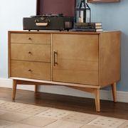 Crosley Furniture Landon Small Storage Console Table