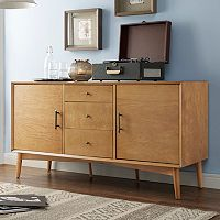 Crosley Furniture Landon Large Storage Console Table