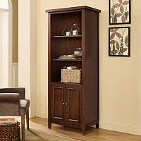 Crosley Furniture Sienna Traditional Bookshelf