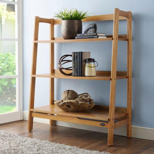 Crosley Furniture Landon Ladder Bookshelf