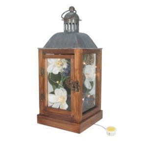 SONOMA Goods for Life? Farmhouse Artificial Flower Light-Up Lantern Table Decor