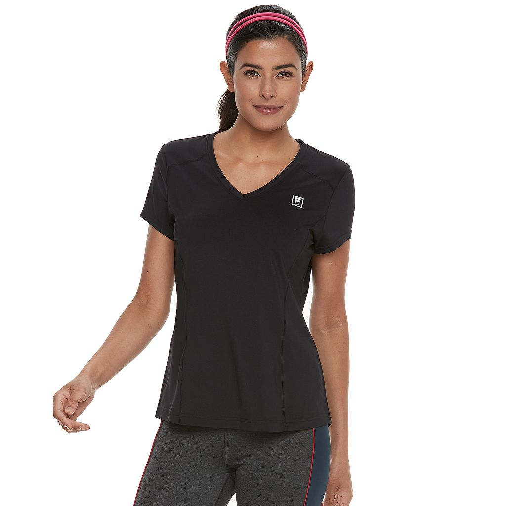 Women's FILA SPORT® Essential V-Neck Short Sleeve Tee