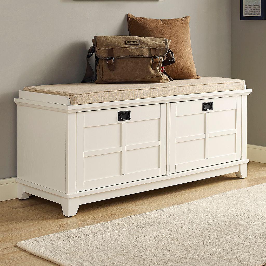 Crosley Furniture Adler Storage Bench