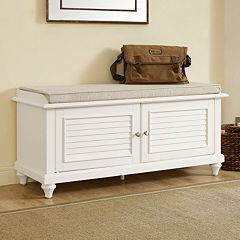 Crosley Furniture Palmetto Storage Bench