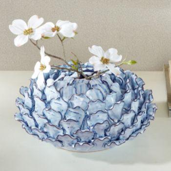 Madison Park Azura Large Ceramic Vase