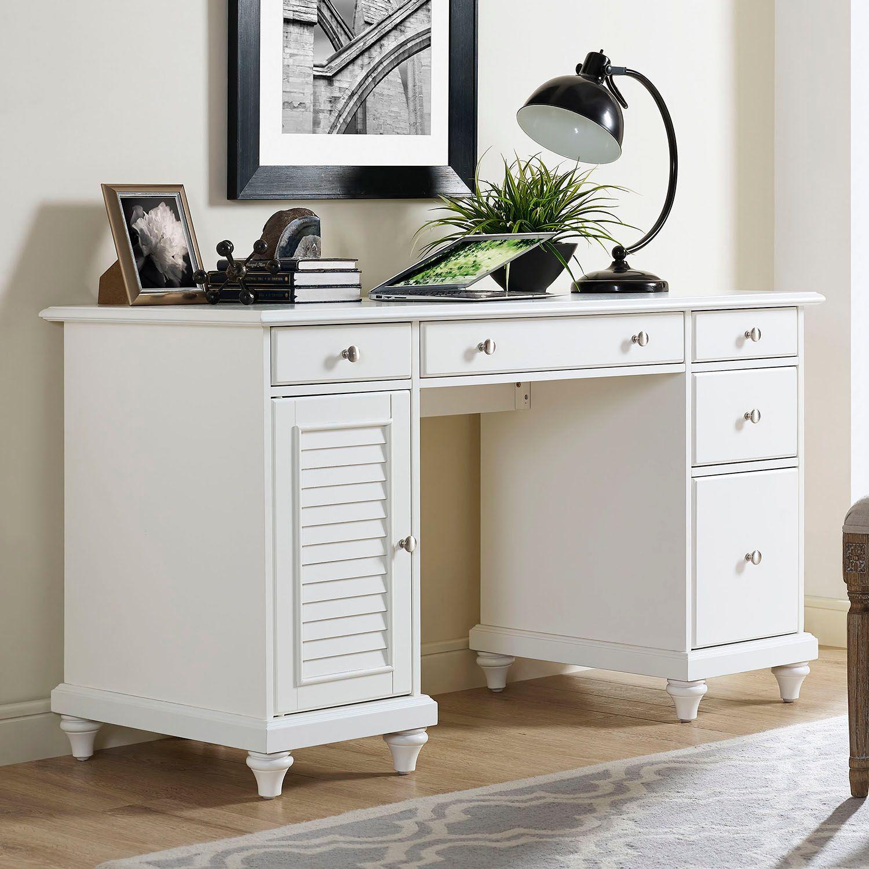 Crosley Furniture Palmetto Storage Desk