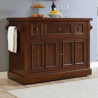 Crosley Furniture Sienna Rolling Kitchen Island