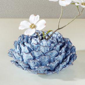 Madison Park Azura Small Ceramic Vase