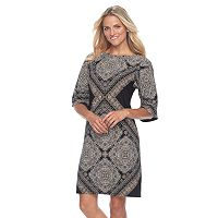 Petite Suite 7 Kimono Shift Dress