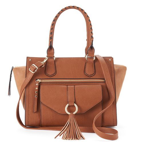SONOMA Goods for Life™ Ruby Wing Tassel Satchel