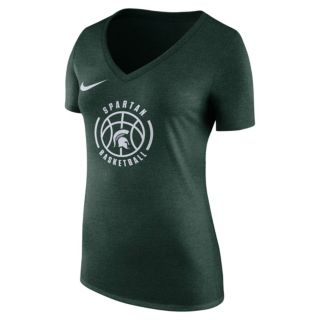Women's Nike Michigan State Spartans Basketball Tee