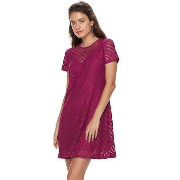 Petite Suite 7 Lace Shift Dress
