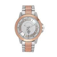 U.S. Polo Assn. Men's Two Tone Watch - USC80524KL