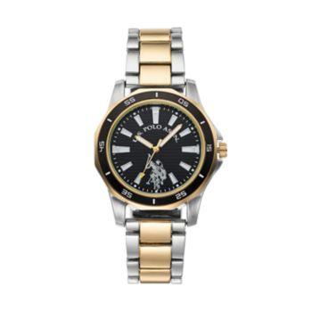 U.S. Polo Assn. Men's Two Tone Watch - USC80474