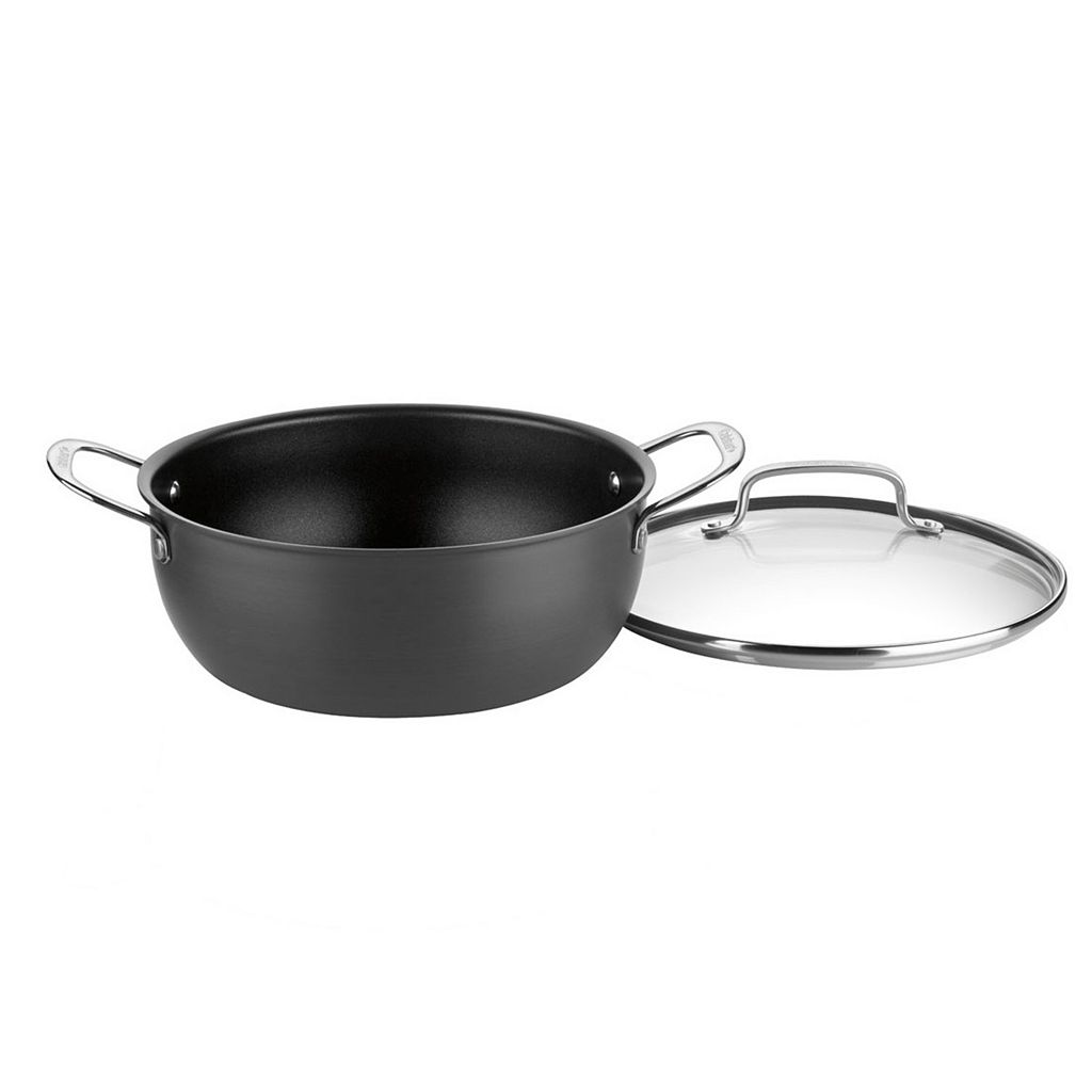 Cuisinart Chef's Classic Nonstick Hard-Anodized Stainless Steel 5-qt. Chili Pot
