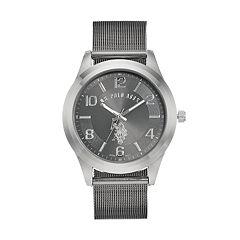 6292699d U.S. Polo Assn. Men's Two Tone Mesh Watch - USC80392KL