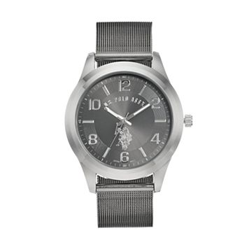U.S. Polo Assn. Men's Two Tone Mesh Watch - USC80392KL