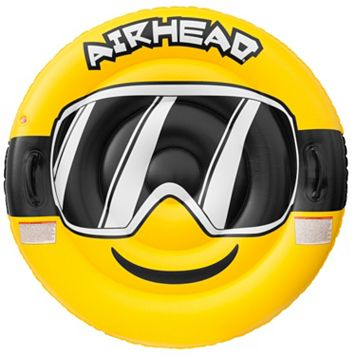 Airhead Emoji Goggles Inflatable Snow Tube