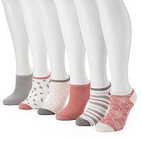 Women's Keds 5 pkAssorted Prints Liner Socks