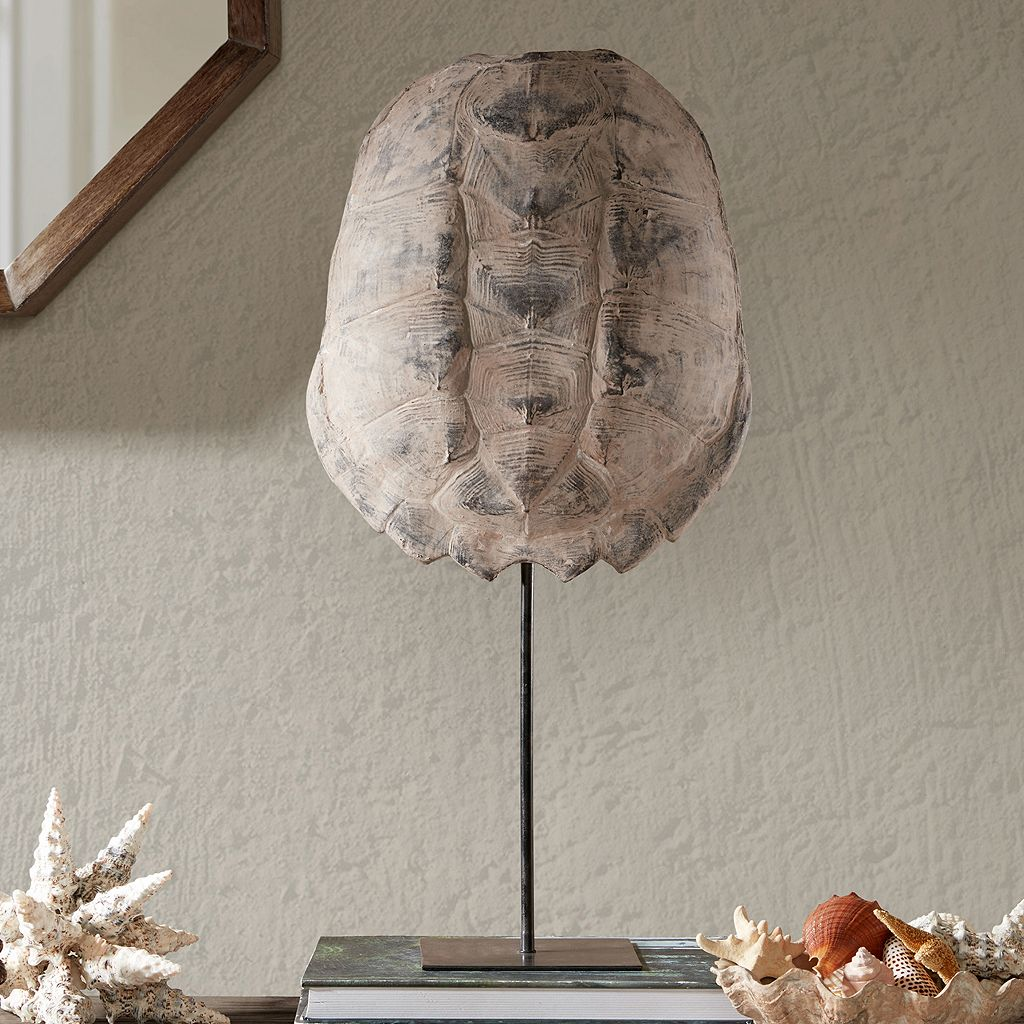 Madison Park Signature Artificial Turtle Shell Table Decor