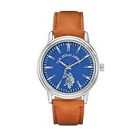 U.S. Polo Assn. Men's Leather Watch - USC50480KL
