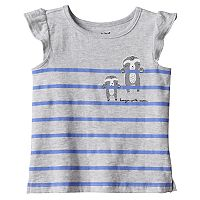 Baby Girl Jumping Beans® Slubbed Graphic Tee
