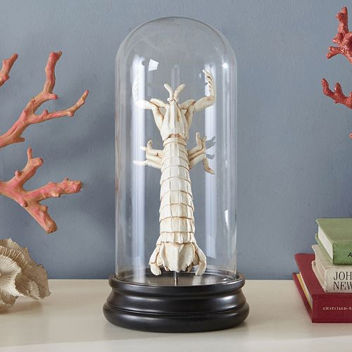 Madison Park Signature Artificial Bleached Lobster Table Decor