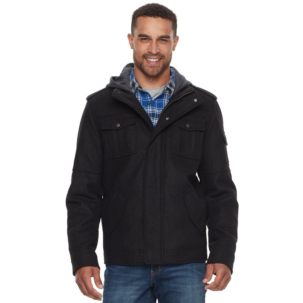 Men's Levi's® Wool-Blend Hooded Trucker Jacket