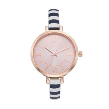Vivani Women's Striped Watch