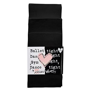 Girls 4-14 Jacques Moret 3-pk. Solid Footed Dance Tights