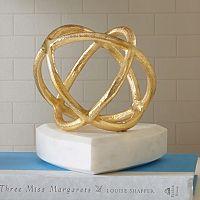 Madison Park Signature Gold Finish Sphere Table Decor