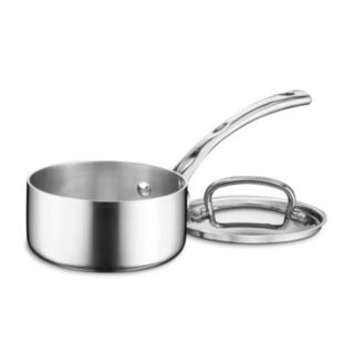 Cuisinart French Classic Tri-Ply Stainless Steel 1-qt. Saucepan