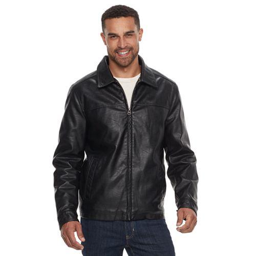 Men's Dockers Faux-Leather Jacket