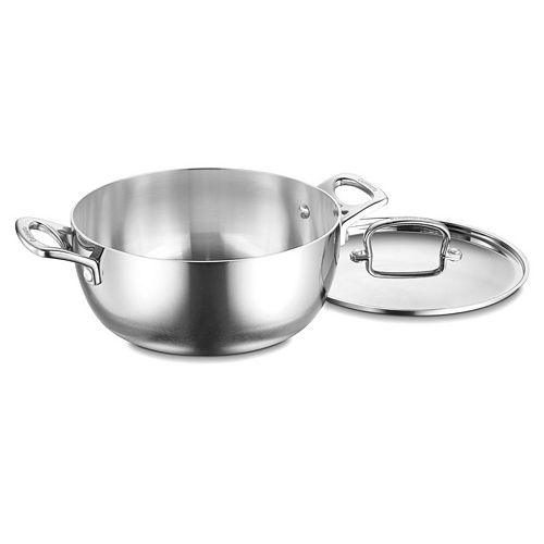 Cuisinart French Classic Tri-Ply Stainless Steel 4.5-qt. Dutch Oven