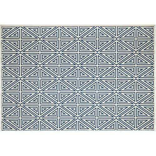 Momeni Baja Diamond Geometric Indoor Outdoor Rug