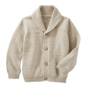Toddler Boy OshKosh B'gosh® Marled Shawl-Collar Cardigan Sweater