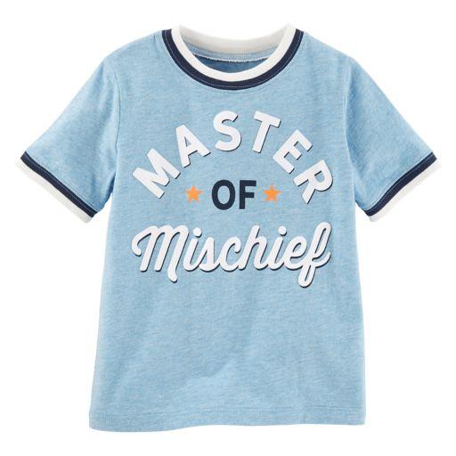 "Toddler Boy OshKosh B'gosh® ""Master of Mischief"" Tee"